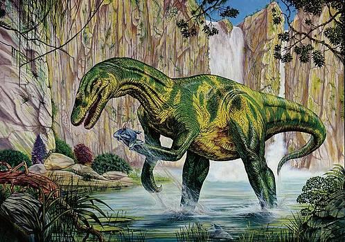 Baryonyx Dinosaur Fishing by Deagostini/uig