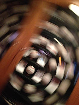 Baseball Swirl by Carrie  Godwin