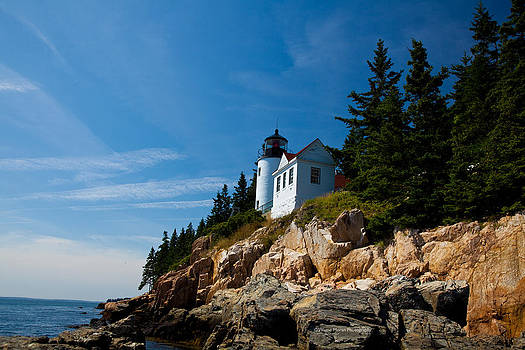 Bass Harbor Head Light by Wayne Moran