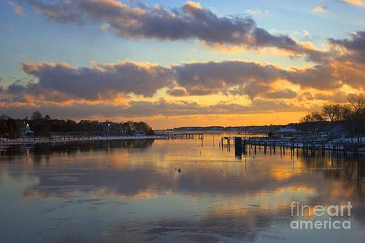 Bass River Reflection by Amazing Jules