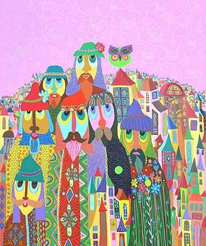 Batranii satului by Mimi Revencu