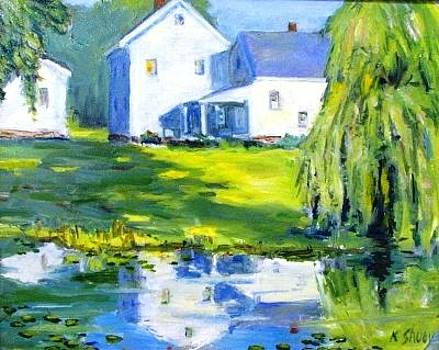 Bauer Farm Reflections by Ken Shuey