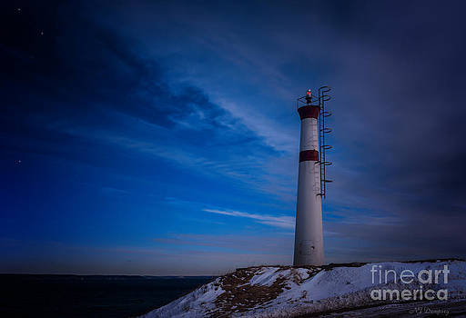 Baxters Harbour Lighthouse by Nancy Dempsey