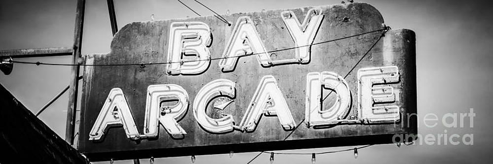 Paul Velgos - Bay Arcade Sign Panorama Photo in Newport Beach