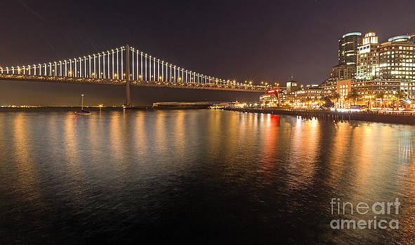 Kate Brown - Bay Bridge Lights and City