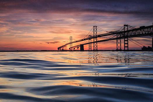 Bay Bridge Silk by Jennifer Casey