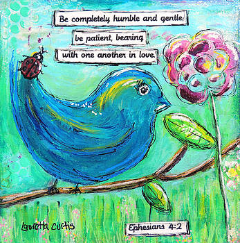 Be completely humble by Lauretta Curtis