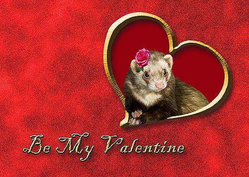 Jeanette K - Be My Valentine Ferret