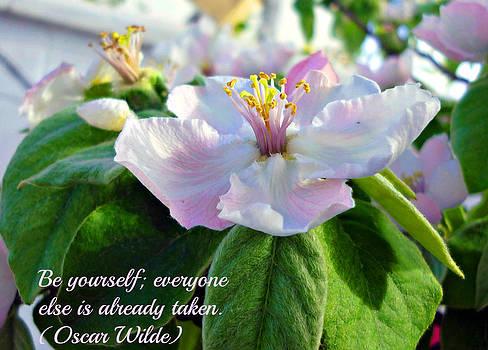 Be yourself flower by Jo Ann