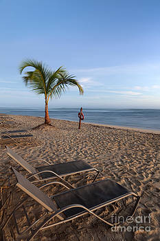 Beach at a Tropical Resort in Punta Cana Dominican Republic by Brandon Alms