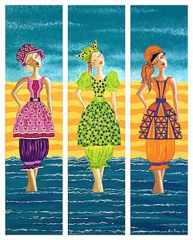 Beach Blomers by Lisa Frances Judd