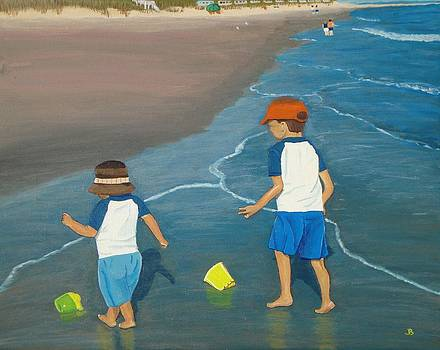 Beach Buddies by Jeannette Brown