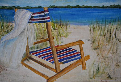 Beach Chair by Debbie Baker
