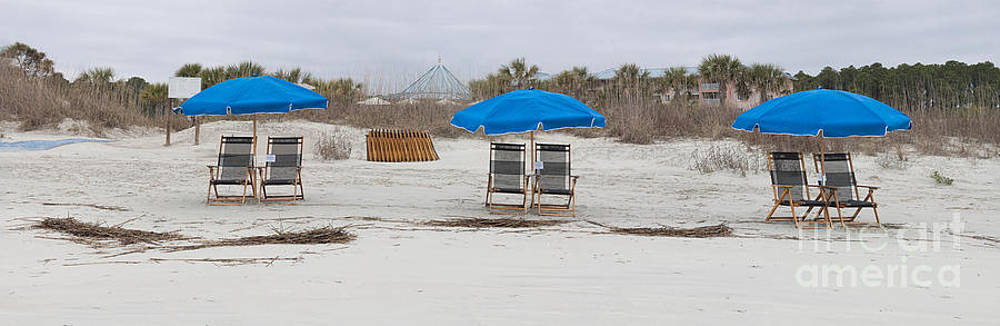 Beach Chairs  by Thomas Marchessault