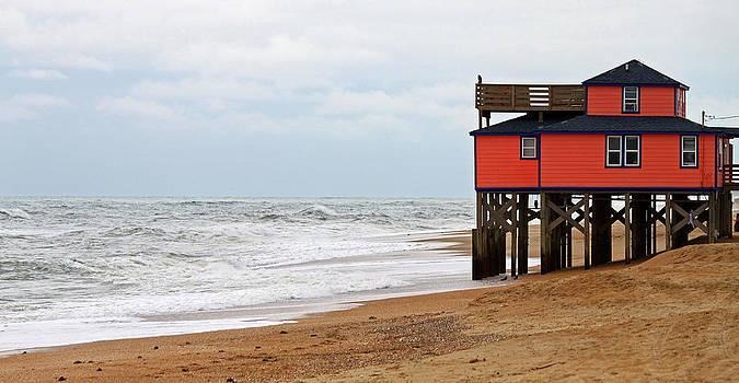 Beach Cottage by Carolyn Ricks