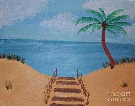 Beach Day by Krystal Jost