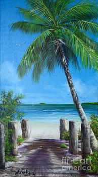 Beach Entrance by Earl  Butch Curtis