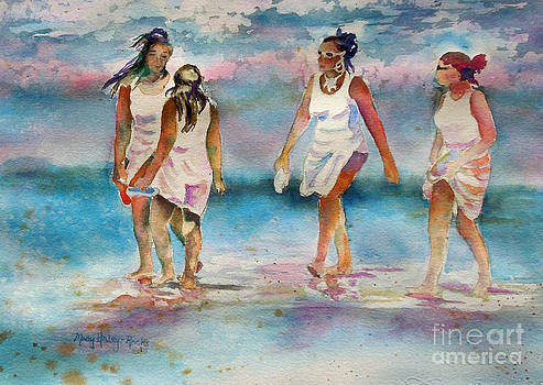 Beach Fun by Mary Haley-Rocks