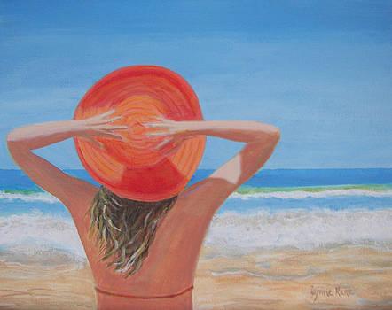 Beach Hat by Lynne Rene