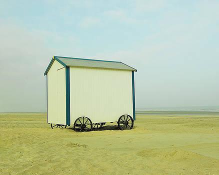Beach Hut by Ilona Paliukiene
