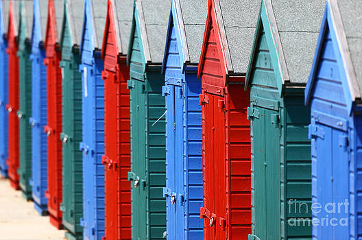 James Brunker - Beach Huts 2