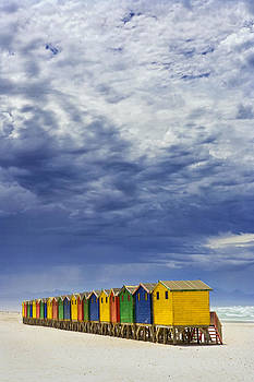 Beach Huts by Mario Moreno