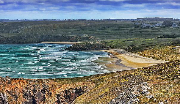 Beach in Brittany by Radu Razvan