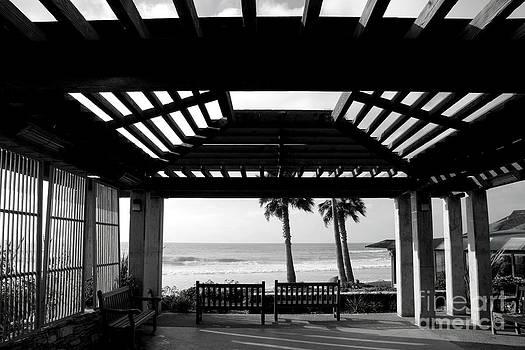 Beach in Del Mar California by Julia Hiebaum
