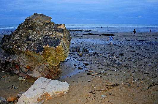 Beach landing by David Valentyne