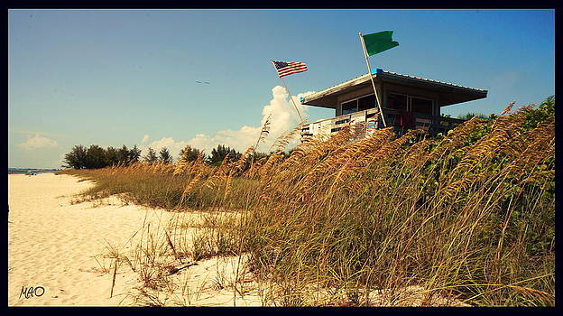 Beach by Maideline  Sanchez
