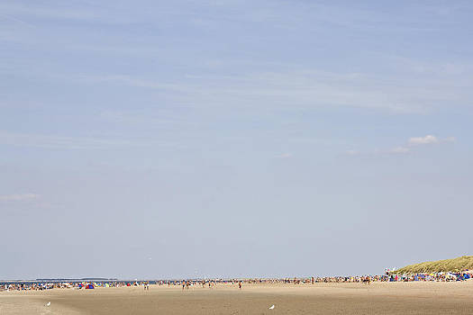 Beach of Renesse by Frits Selier