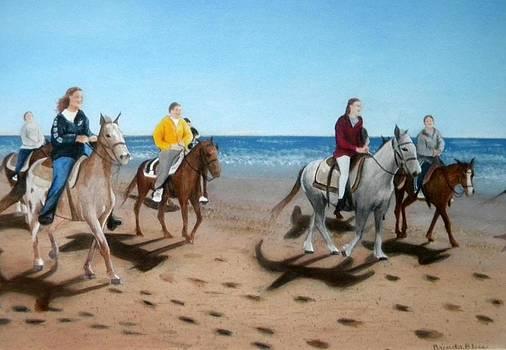 Beach Ride by Brenda Bliss