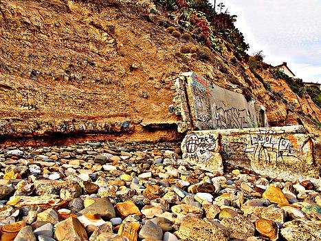 Beach Rocks by Raymond Mendez