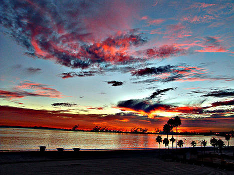 Beach Sky by Raymond Mendez