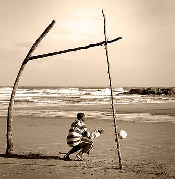 Beach soccer by Stephanus Le Roux