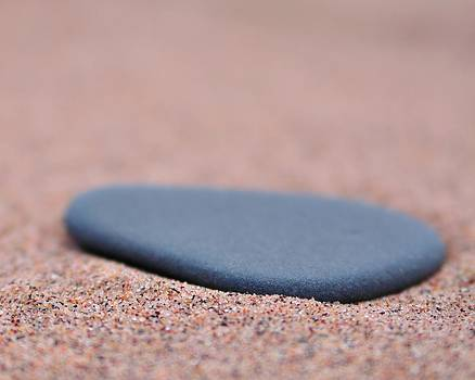 Beach Stone at Park Point Minnesota by Todd Soderstrom