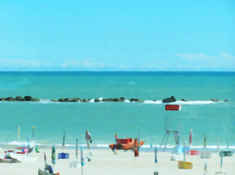 Beach Strange by Alberto Catellani
