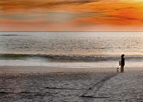 Beach Vendor by Ed Pettitt