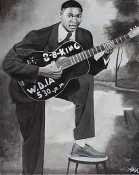 Beale Street Blues Boy by Patrick Kelly