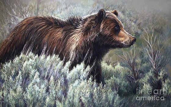 Bear Crossing by Deb LaFogg-Docherty