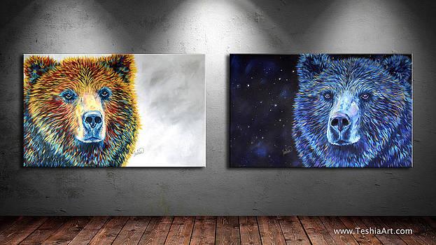 Teshia Art - Bear Daze and Bear Dreams Collection DISPLAY IMAGE