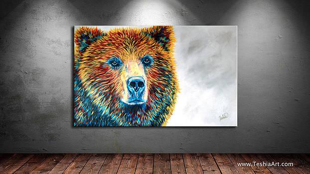 Teshia Art - Bear Daze DISPLAY IMAGE ONLY