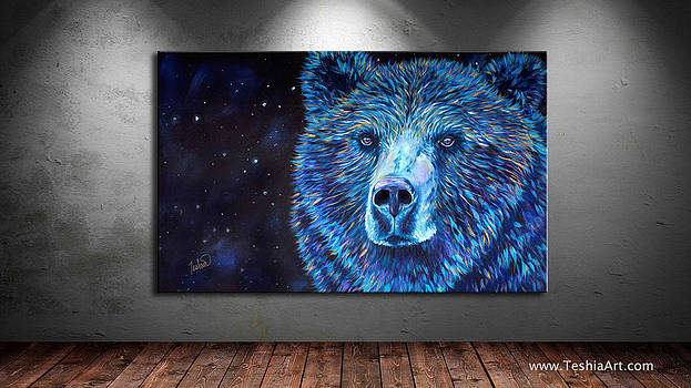 Teshia Art - Bear Dreams DISPLAY IMAGE