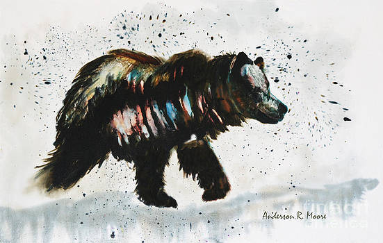 Anderson R Moore - Bear Hunter