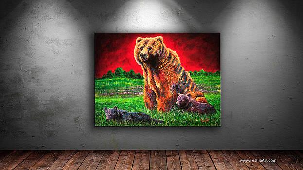 Teshia Art - Beargrass Art Display Image