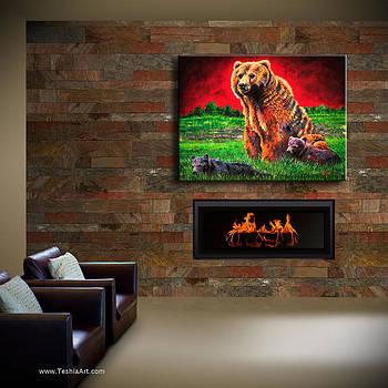 Teshia Art - Beargrass Display Image