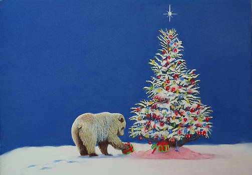 Beary Christmas by Laurie Cartwright