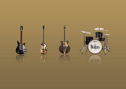 Beat of Beatles gold by Six Artist
