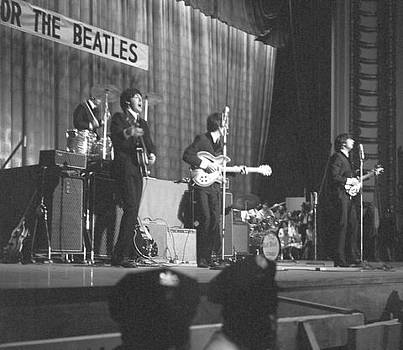 Beatles Philly 1964 by Glenn McCurdy