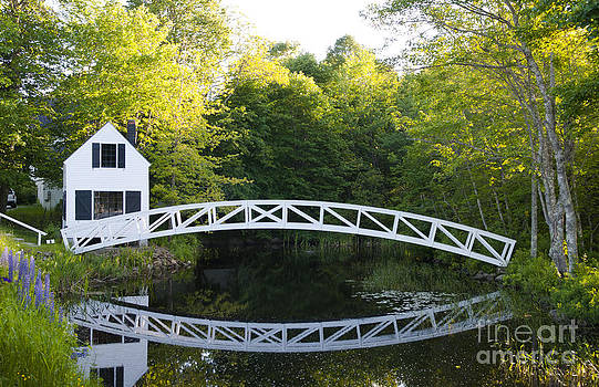 Bill Bachmann - Beautiful Curved Bridge In Somesville